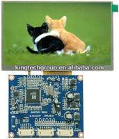 5 inch mini tft lcd color tv 480X272 controller board