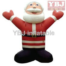 hot sales funny Chrismas Inflatable advertising,inflatable santa cartoon,christmas cartoon
