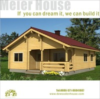 Leisure wooden house DY-C-116