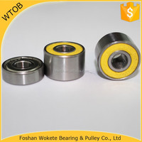 Low Friction Miniature Wheel Bearing Ball 5 Ball 608 Ceramic Bearing