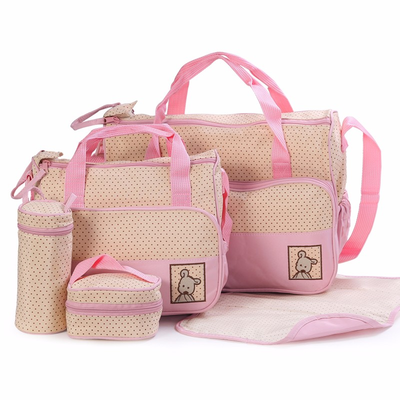 2017 new design tote/hand diaper bag for baby chevron diaper bag mother bag for wholesales