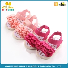 Beautiful Ice cream pattern summer baby girl sandals