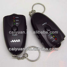 drive safety digital keyring alcohol content tester