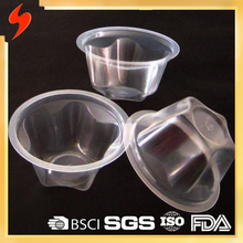 FDA Certified PP Plastic 130ml Disposable Pudding Cup