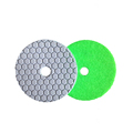 Diamond buffing Black stone abrasive polishing pads