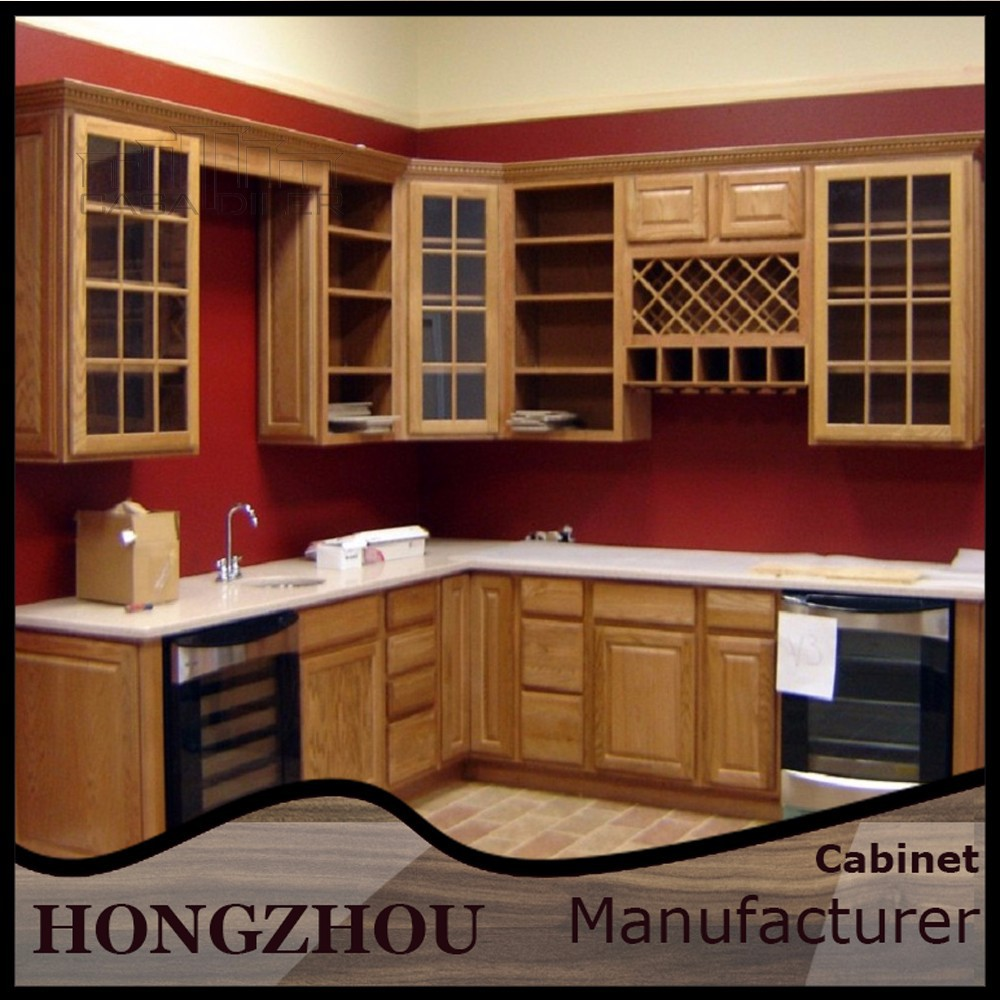 Foshan Furniture Prefabricated Best Display Kitchen Cabinets