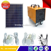 Waterproof Eco-friendly complete home solar power system With Phone Charge
