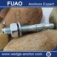 YZP Concrete Bolts Fixing Anchors Wedge Anchor Bolt Grade 4.8