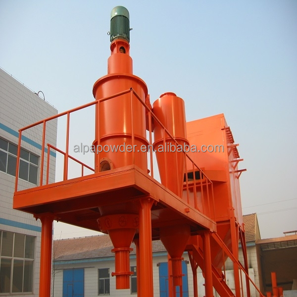 efficient air separator/classifier for fine micron powder single impeller classifier