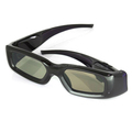 Factory directly sale high quality bluetooth/IR 3d glasses for TV & porjector