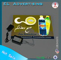 EL flashing advertisement animated el advertisement el traffic signs