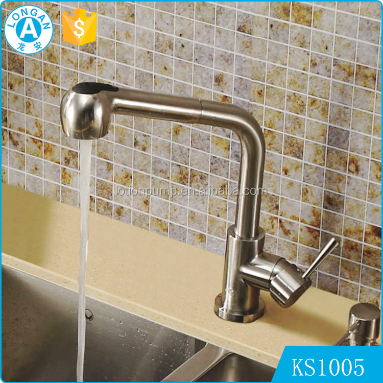 high quality brass chromed deck down flexible 360 Degree Rotate Spout water mixer upc faucet kitchen