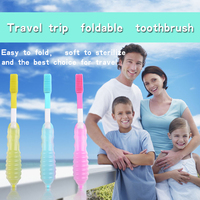 BPA Free Baby mini black toothbrush for baby childrden Teeth Brush