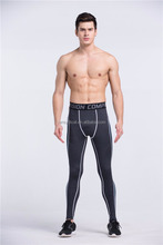 OEM/ODM Men's Compression Pants Fitness Tights Cycling Running Jogging Leggings Workout Clothing
