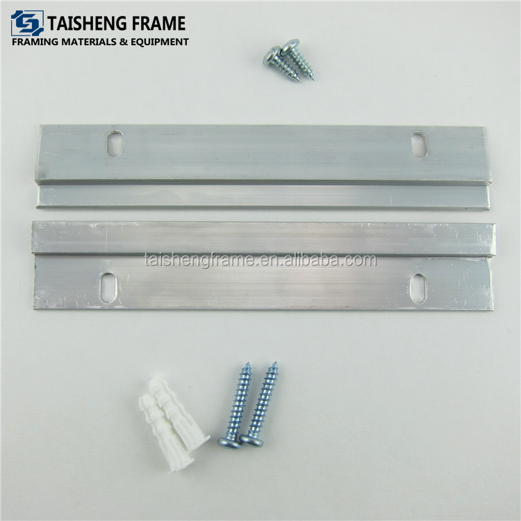 Z bar hanger/Long Light-Duty Cleat Hanger Set for Wood Frame with Security Lock/Z panel hanger