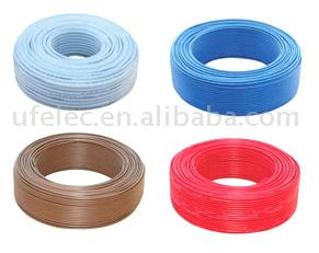 100% copper material electrical cable