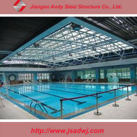 High quality and Economical Metal Frame Truss Roofing Swimming Pool Cover