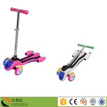 Factory price kids kick scooter / outdoor toys child scooter / 3 wheels scooter for sale