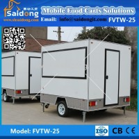 Customized Made Hot Selling Street Mobile Food truck for sale Mobile Food Concession Trailer