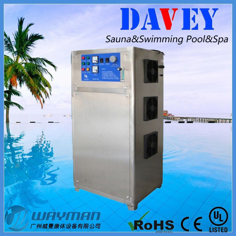 wholesale Davey swimming pool Ozone generator,swimming pool cleaning machine