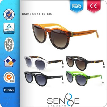 2016 fashion Designer Sun Glasses for Women latest brand SENSE