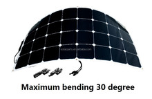 solarparts flexible solar panel kit sun power solar cell OEM order for boat factory direct