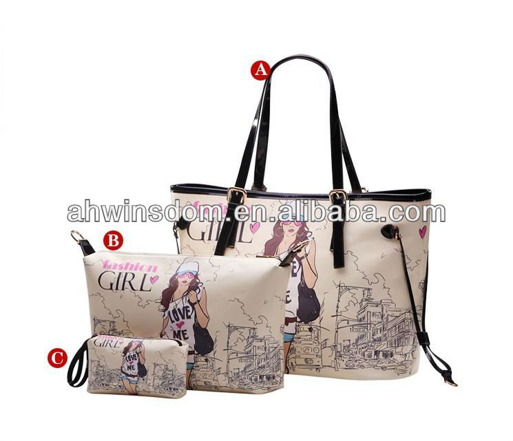 2013 EUROPE STYLE LATEST FASHION DESIGN BAGS WOMEN'S HANDBAGS