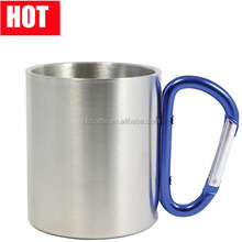 220ml Stainless Steel Coffee Mug Camping Outdoor Portable Cup