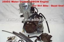 250cc Water cooled Loncin Zongshen Engine For Dirt Bike and Quad Use