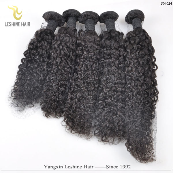Cheap Price Large Stock 5 Texture 100% Human Hair Unprocessed flexible soft remy virgin peruvian curly hair