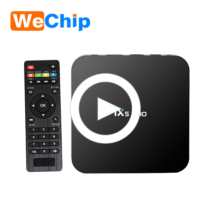 High Speed TX5 PRO Android TV BOX S905X 2GB <strong>16GB</strong> Android 6.0 Smart TV BOX Quad Core KODI 16.1Media Player 2.4G+5.8G WIFI