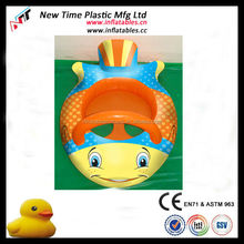 pvc inflatable toy baby seat for sale