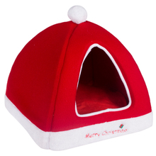 Hot sale small warm cheap Christmas dog house