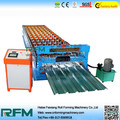 FX metal roof tile with chain transmission machine