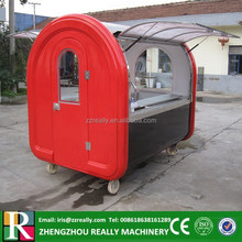 Hot sales best quality New model mobile bbq food van for sale fast bbq food van with whe els best bbq food van designing