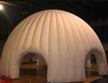 Most popular dome inflatable event tents lighted for party