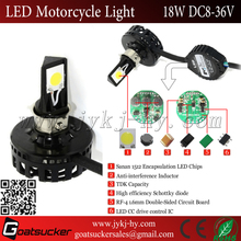 waterproof headlight 18w led lighting for motorbike wenzhou light motorcycle