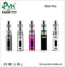 Eleaf istick pico kit accept USB port via 1A adapter or computer VW/ Bypass/ TC (Ni,Ti,SS,TCR-M1,M2,M3) mode