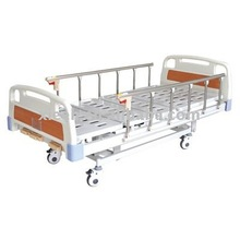 Hospital Furniture cheap manual medical trolley bed equipment