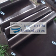 Black Natural Rubber Sheet (1-50mm Thickness)