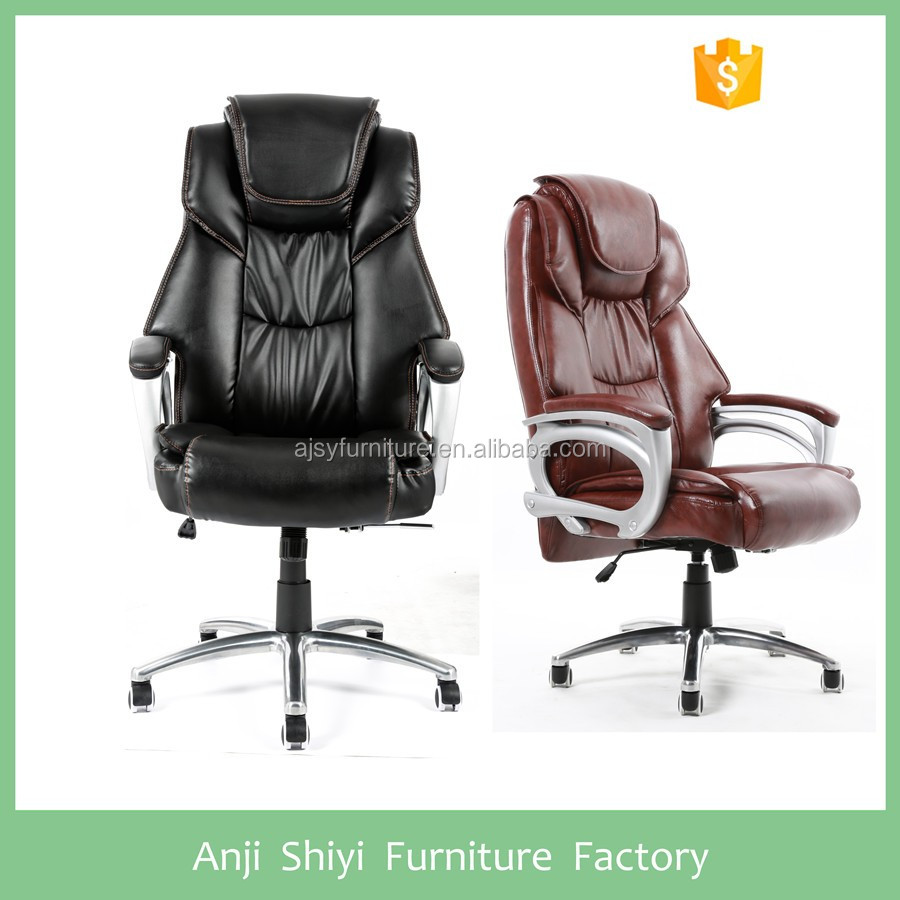 Leather swivel office chair massage chair message chair
