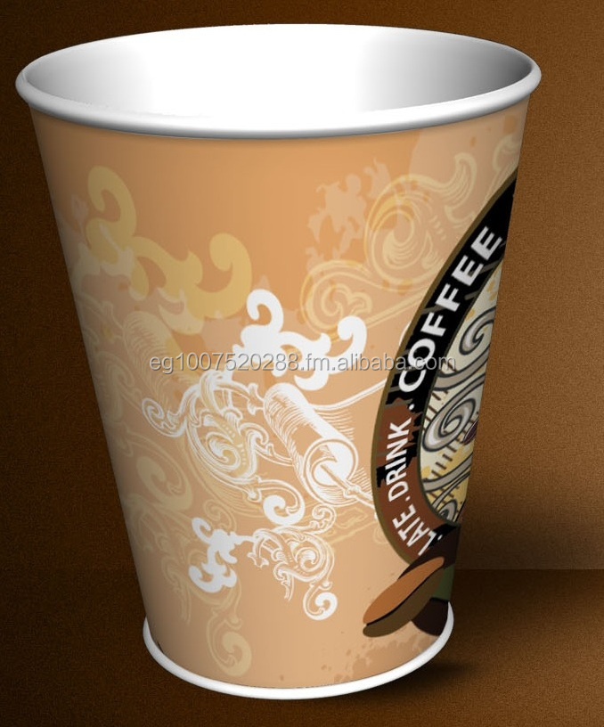 Paper Cup 8 oz suitable for Hot Drinks