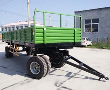 10 tons and 4 wheels tractor Farm Trailer