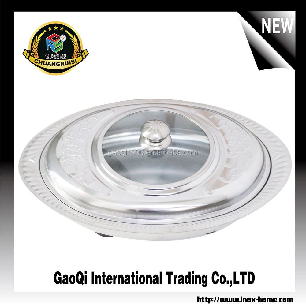 stainless steel buffet food display chafing dish oval shape serving chafing for hotel and restaurant