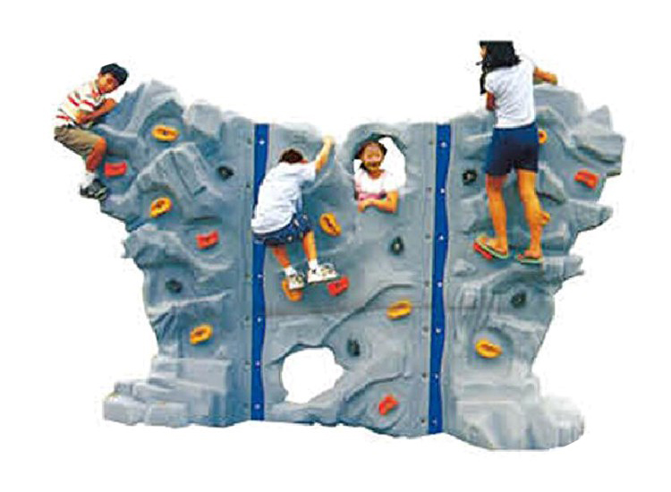 China plastic rock climbing wall
