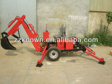 22 HP diesel engine ATV towable backhoe