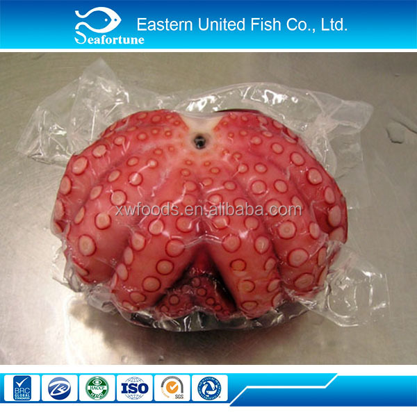new arrival export whole frozen cooked flower octopus