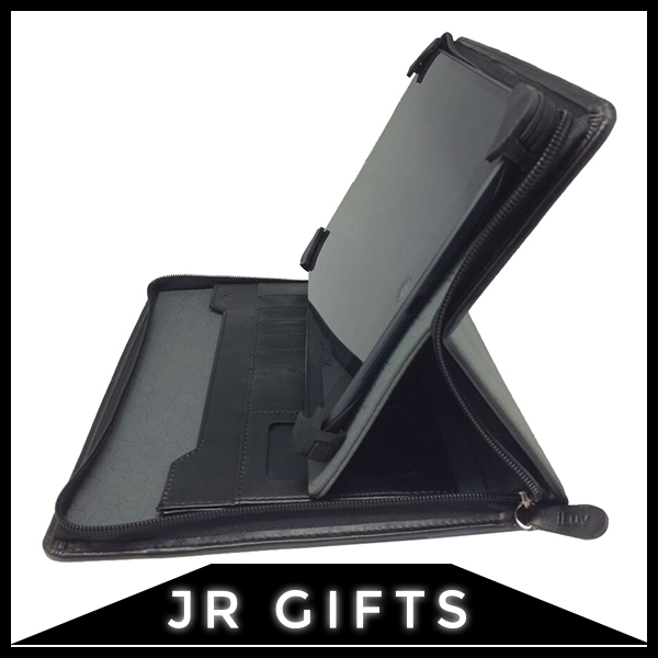 Quality Assured Black Faux Leather tablet cover