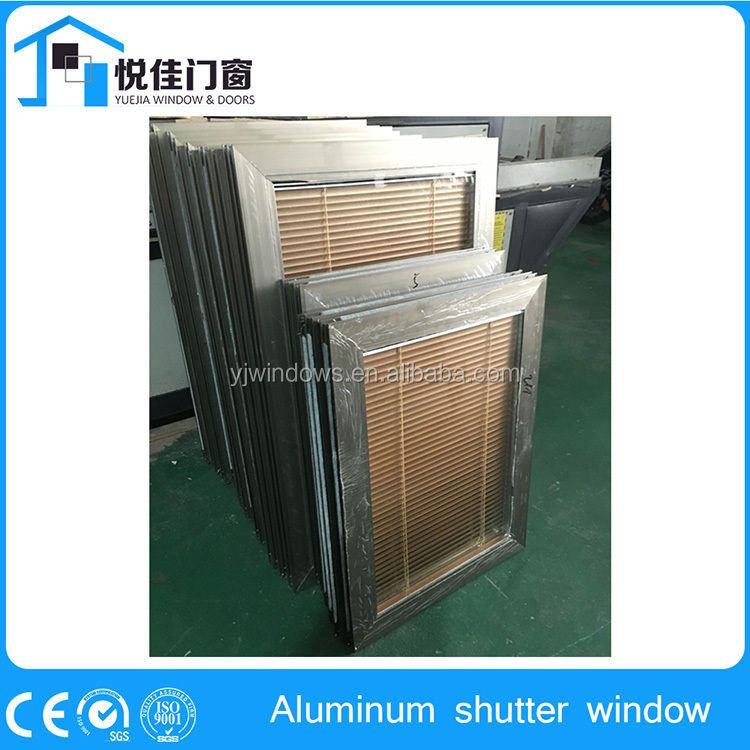 China supplier louvered exterior shutters, jalousie window manufacturer