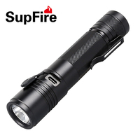 Bulk home use waterproof rechargeable USB flashlight A5